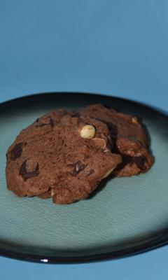 Biscuits au chocolat et à la clémentine