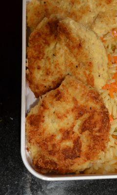 Croquettes de poulet cuit au chipotle