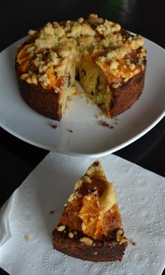Gâteau au crumble et aux clémentines