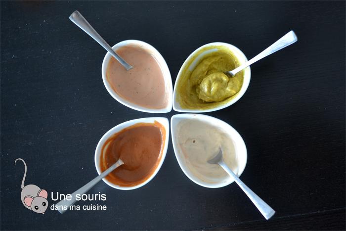 Sauces à fondue chinoise