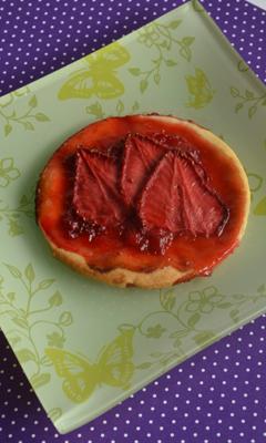 Biscuits tartelettes à la fraise