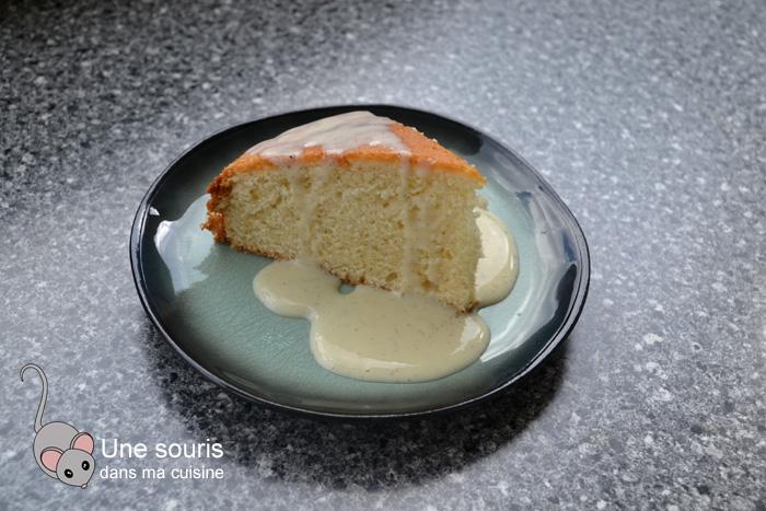 Gâteau blanc à la vanille inspiré de Marilou