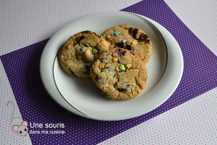 Biscuits aux pépites de chocolat d'Isa