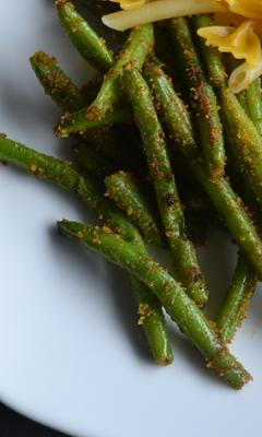 Haricots verts sautés aux épices