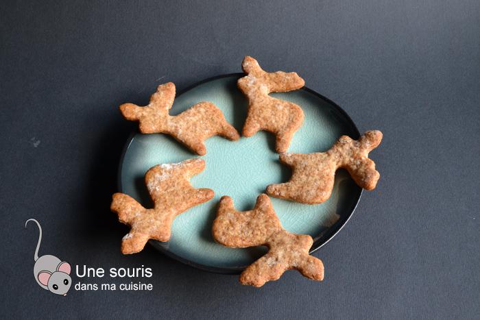 Petits biscuits pains d'épices