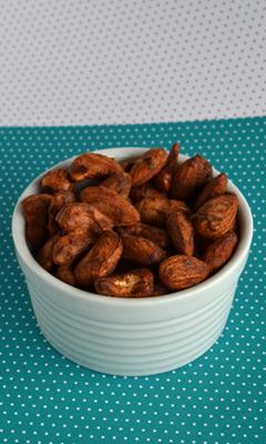 Amandes et noix de cajou pimentées