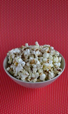 Popcorn aux fines herbes
