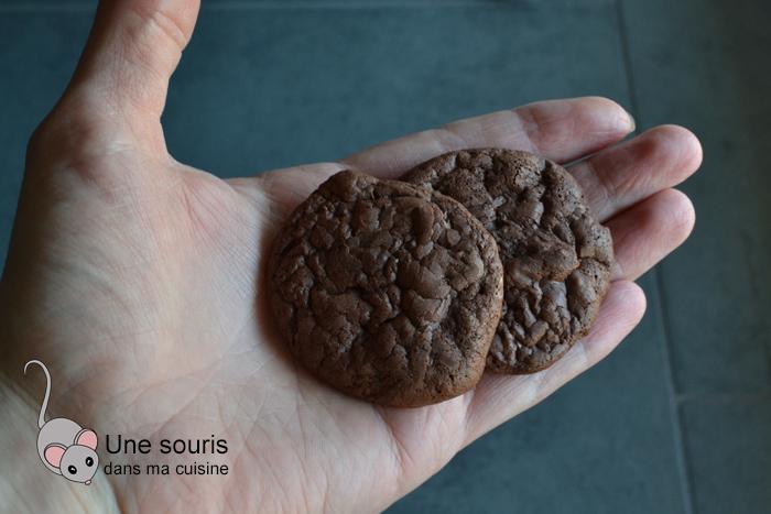 Biscuits au chocolat soufflés