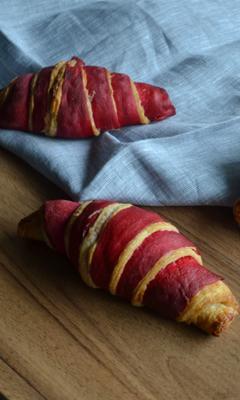 Croissants bicolores