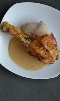 Poulet rôti au berbéré