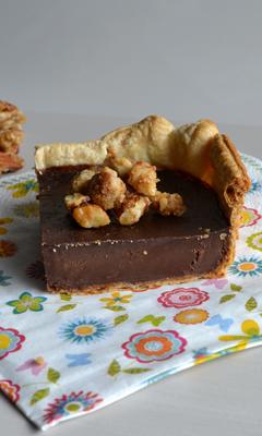 Tarte flamande au chocolat