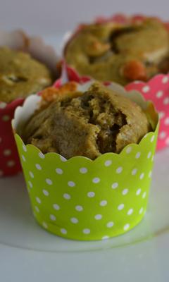 Muffins au matcha et aux amandes