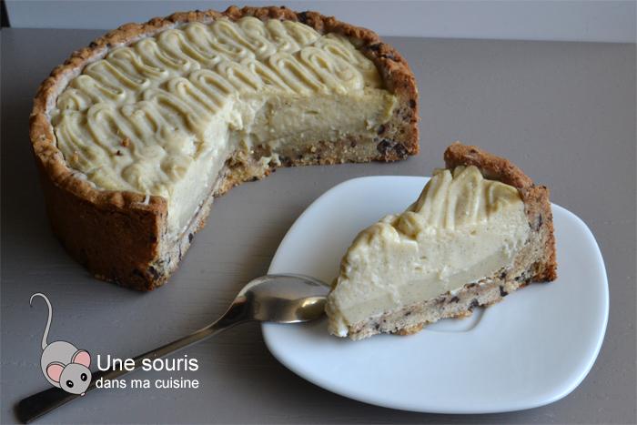 Pâte à tarte aux brisures de chocolat