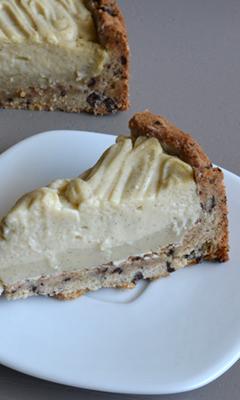 Pâte à tarte biscuit aux brisures de chocolat