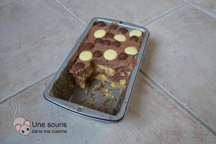 Bagatelle clémentine et chocolat
