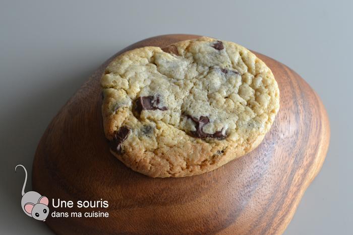 Biscuits aux pistoles de chocolat et au beurre noisette