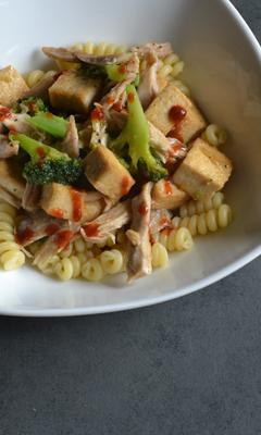 Tofu au miso et à l'érable