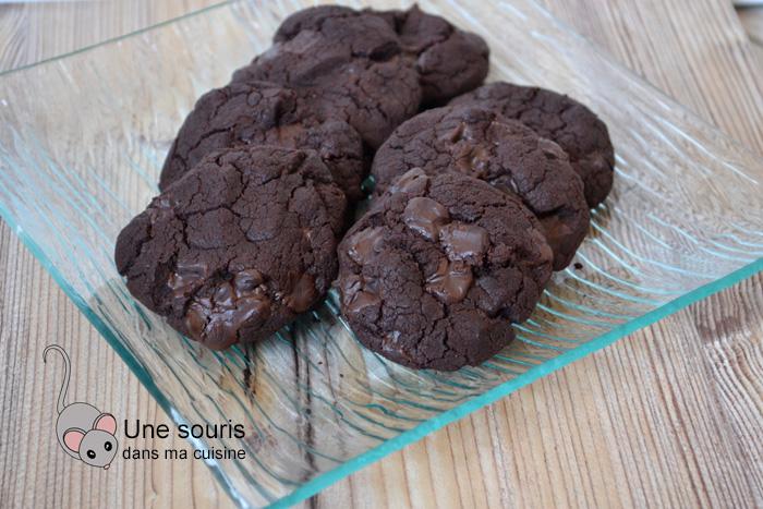 Biscuits au chocolat sans