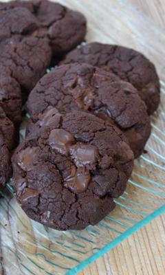 Biscuits au chocolat sans...