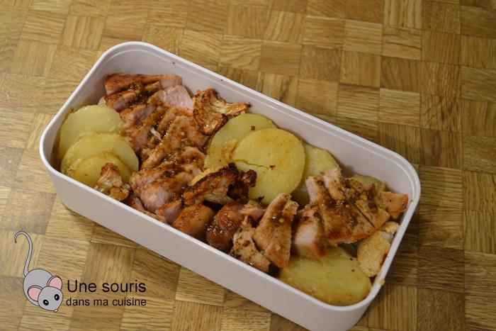 Côtelettes de porc à l'érable et au cari