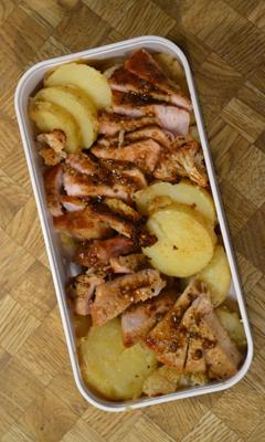Côtelettes de porc à l'érable et au curry