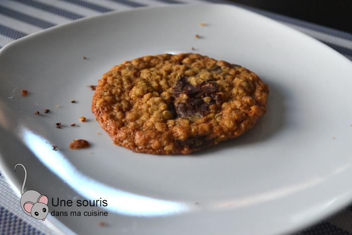 Biscuits à l'avoine et au chocolat