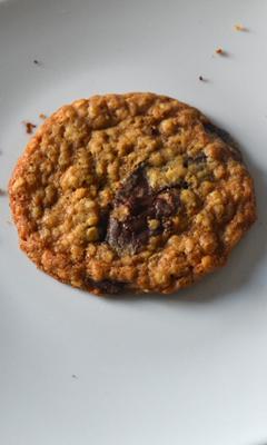 Biscuits à l'avoine et au chocolat crousti-moelleux