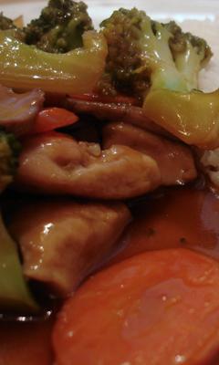 Sauté de poulet teriyaki à l'érable