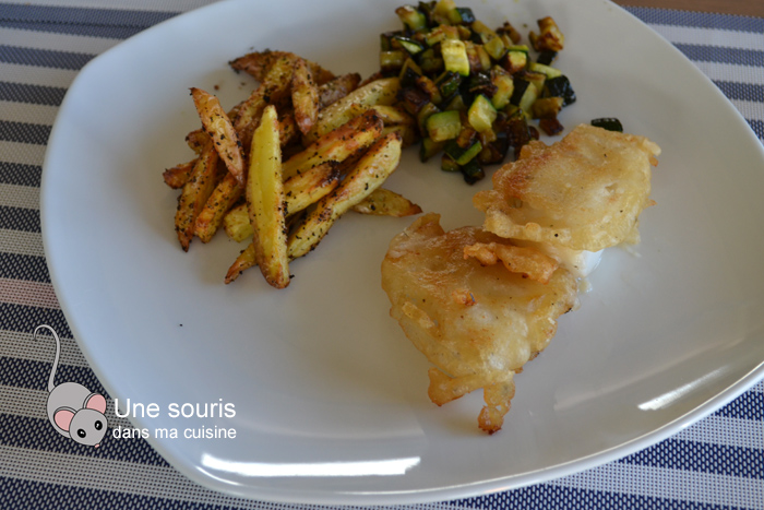 Fish and chips de Di Stasio