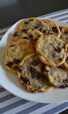 Biscuits aux pépites de chocolat de Marilou