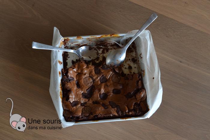 Brownie au chocolat et aux guimauves