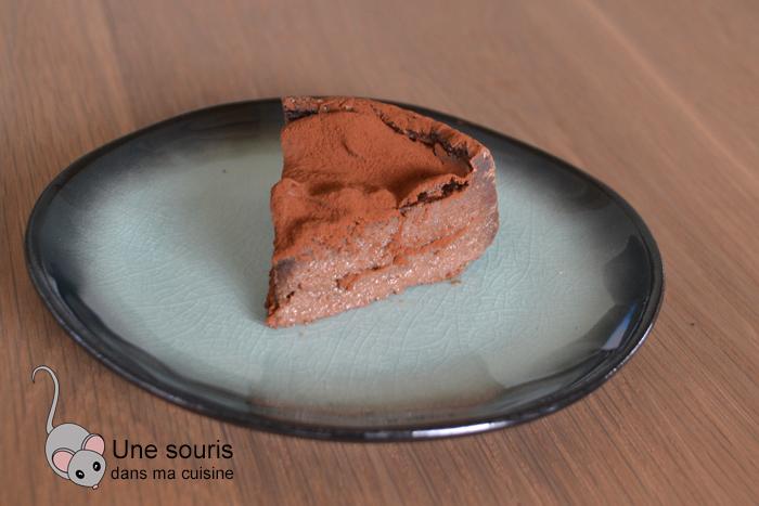 Flan pâtissier chocolat sans pâte
