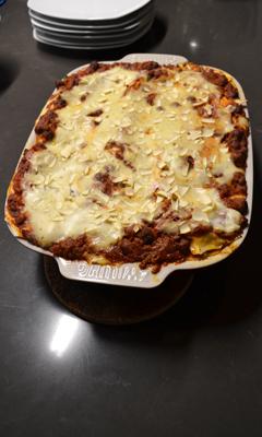 Lasagne aux boulettes