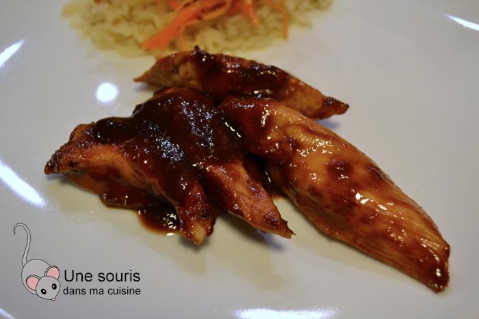 Poitrines de poulet BBQ de Danny