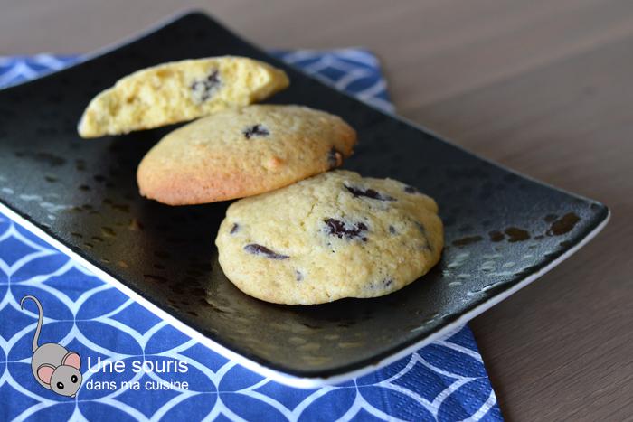 Biscuits au chocolat et citrouille