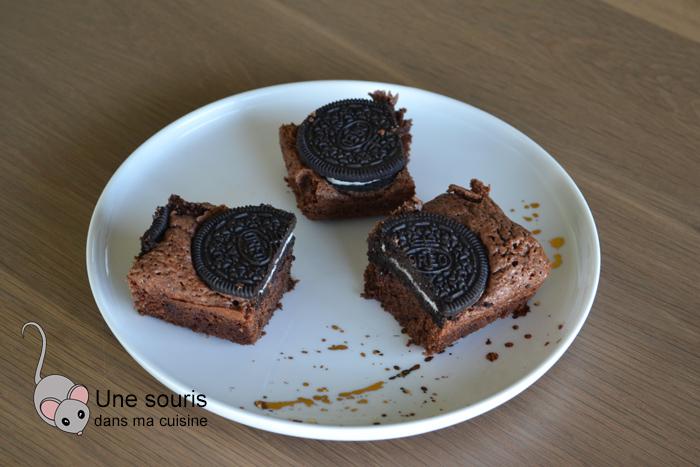 Brownie aux Oréo