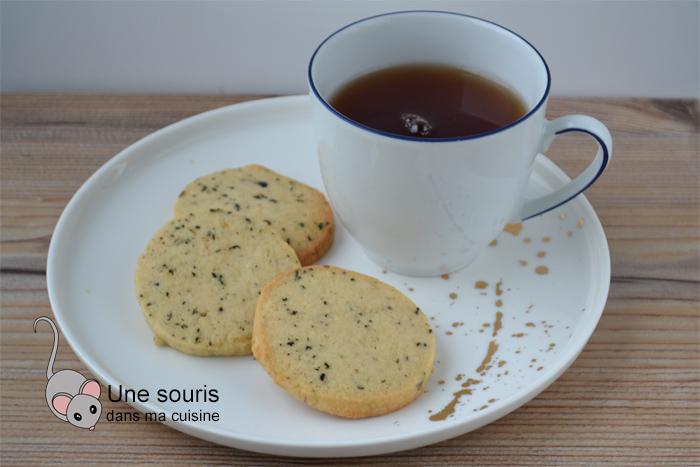 Sablés au thé des moines