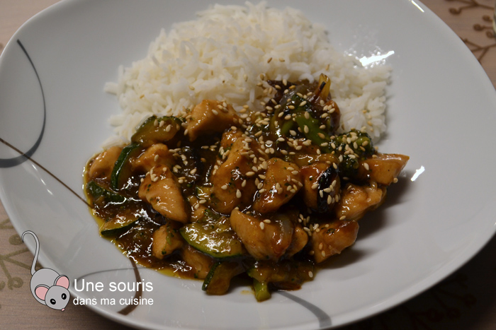 Poulet style Kung Pao