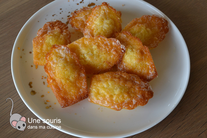 Madeleines à l'orange d'Isa