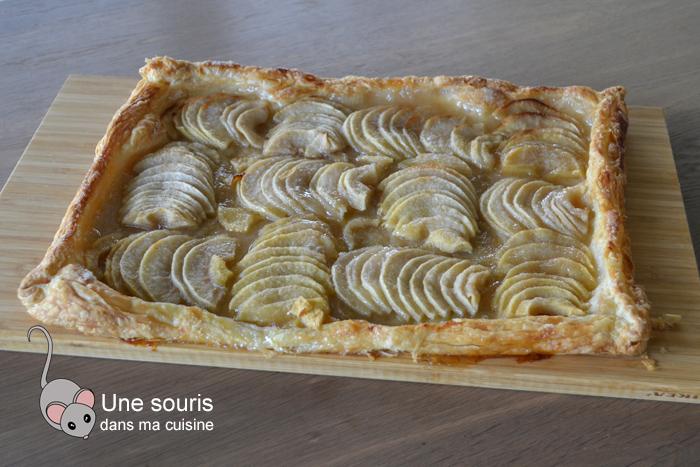 Tarte feuilletée aux pommes simple