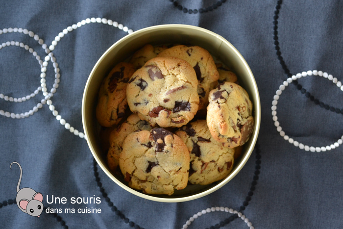 Biscuits chocolat et pacane