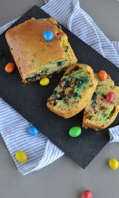 Gâteau aux M&M's