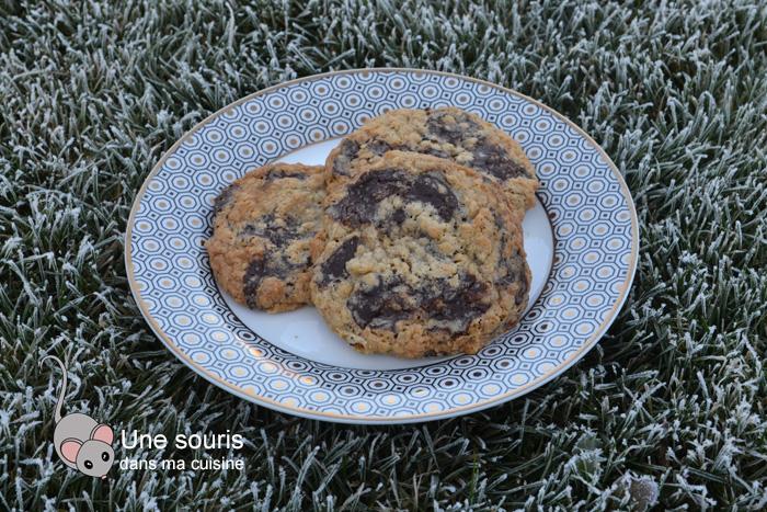 Biscuits croustillant-moelleux à l'avoine et au chocolat