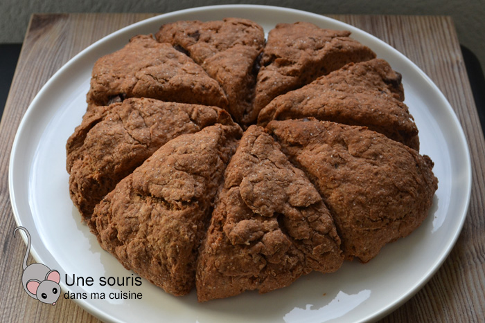 Scones au chocolat de Betty Bossi
