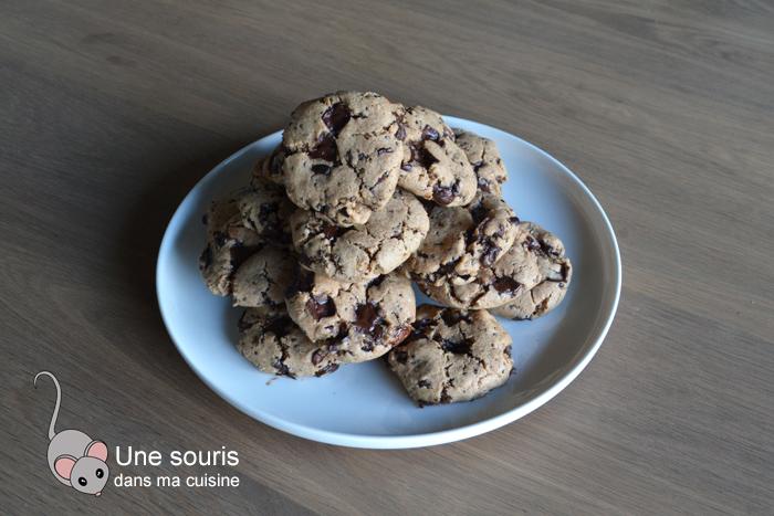 Biscuits végétaliens aux pépites de chocolat