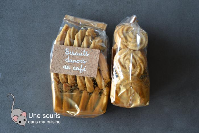 Biscuits danois au café