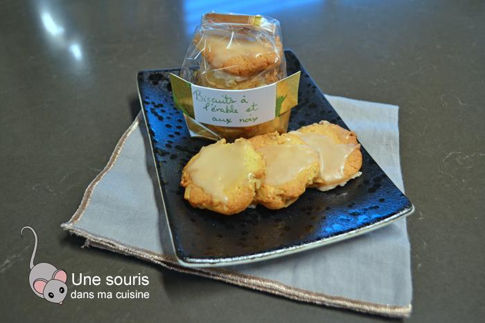 Biscuits érable et noix