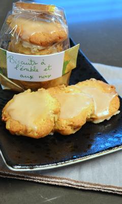 Biscuits à l'érable et aux noix