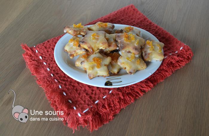 Biscuits étoiles aux abricots
