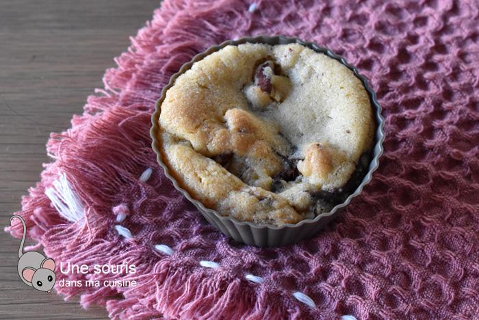 Biscuits trapus pacanes et chocolat